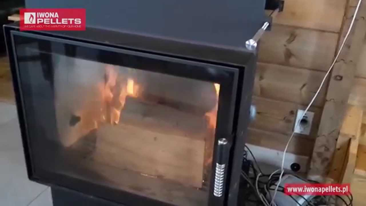 Pellet And Wood Fireplaces Iwona Pellets Youtube