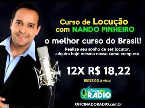 O melhor e mais completo curso de locução do Brasil