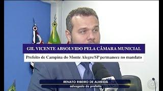 Prefeito Gil Vicente absolvido - TV TEM/GLOBO