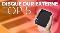 TOP5 : MEILLEUR DISQUE DUR EXTERNE (2019)