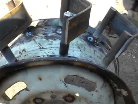 Как сделать колеса на мотоблок фото 562