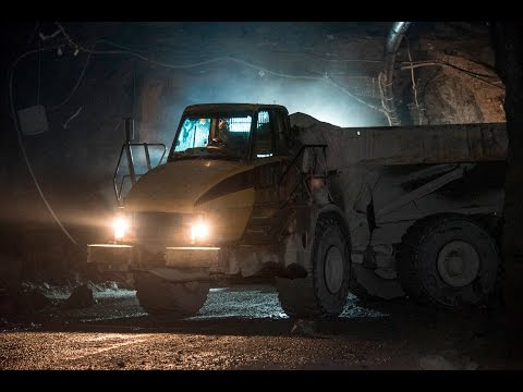 Mining For Minerals 1000 Feet Underground