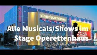 Alle Musicals/Shows im Stage Operettenhaus