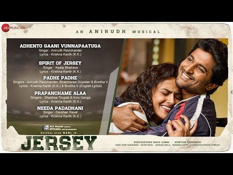 Jersey Full Movie Audio Jukebox  Nani & Shraddha Srinath  Anirudh Ravichander