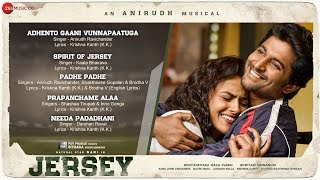 Jersey Full Movie Audio Jukebox Nani & Shraddha Srinath Anirudh Ravichander