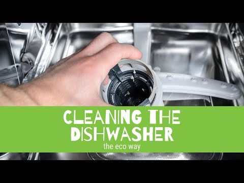 Amazing Tips How to Clean your Dishwasher in Eco & Natural Cleaning WAY