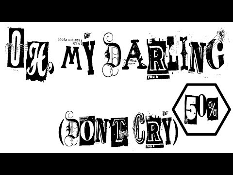 Run The Jewels - Oh, My Darling (Don't Cry) - Uncensored - Lyrics Video  - Slowed 50%