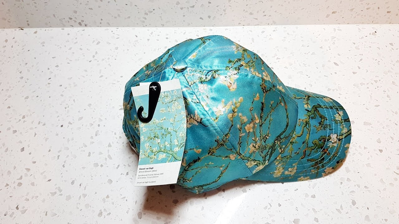 7ddd0d9749 Hands On  Vans X Van Gogh Museum ALMOND BLOSSOM Hat. - YouTube