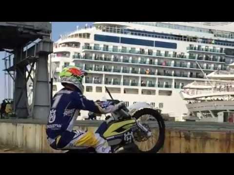 Endurea Panama Graham Jarvis Panama Canal 2015