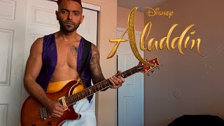 A Whole New World (Disney's Aladdin Theme Song)   Electric Guitar Cover By The Singing Guitar