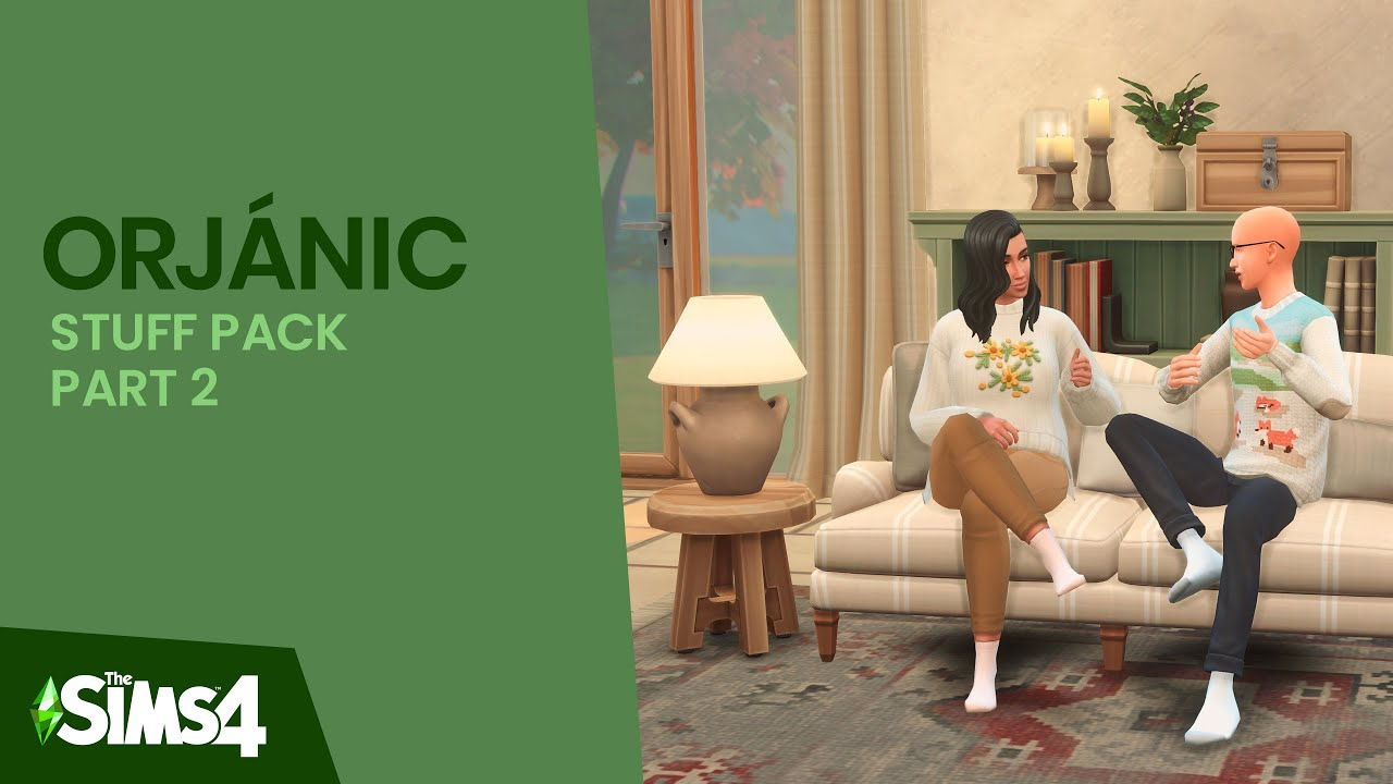 Download ORJÁNIC   Part Two   The Sims 4: Custom Content Showcase   #Harlix