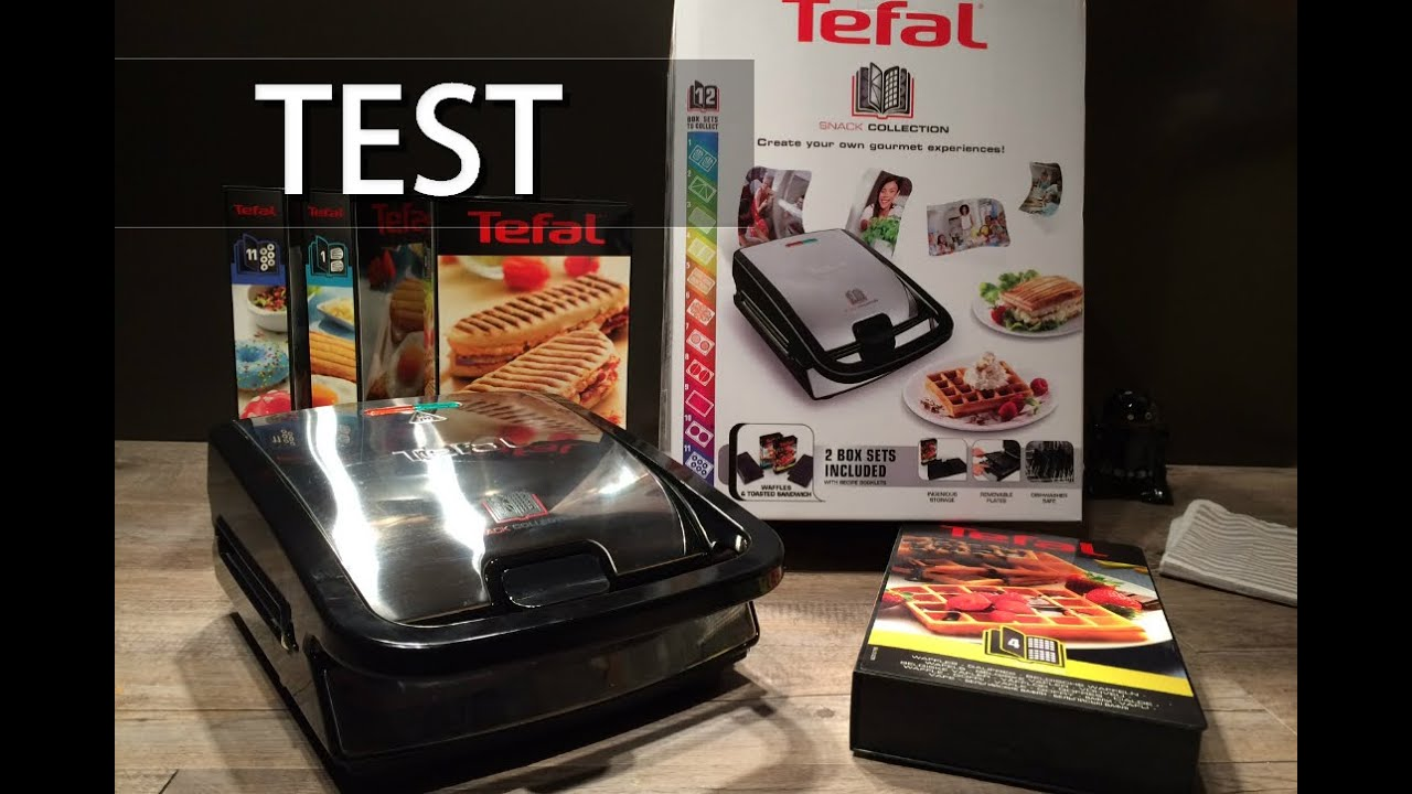 test du gaufrier snack collection tefal youtube. Black Bedroom Furniture Sets. Home Design Ideas