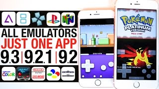 All Emulators iOS 9.3, 9.2.1 & 9.2 - GBA, NDS, PSP, PS1, & N64!