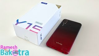 Vivo Y15 Unboxing and Full Review