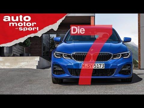 Der neue BMW 3er (G20): 7 Fakten, die du sicher nicht kennst | auto motor und sport