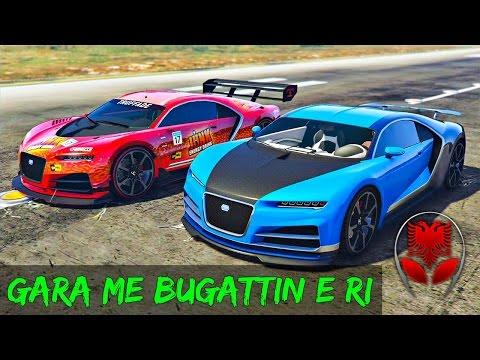 GTA 5 SHQIP - Gara me Bugattin e Ri !! - SHQIPGaming