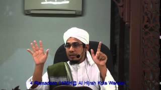Makhraj & Sifat Huruf Ustaz Nik Bakri Nik Mat 150621