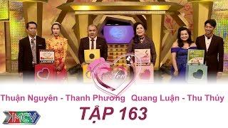 thuan nguyen - thanh phuong  thu thuy - quang luan   vo chong son  tap 163  25092016