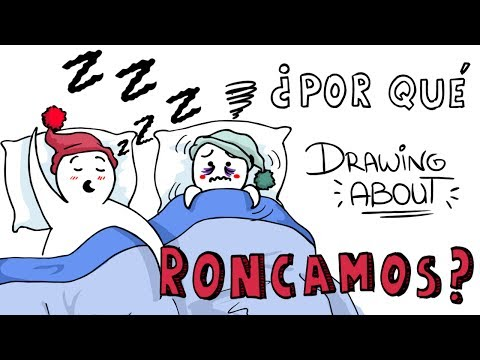 Download Youtube: ¿POR QUÉ RONCAMOS?💤   Drawing About con @GlóbuloAzul