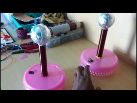 Wireless Power Transmission  using Tesla Coils