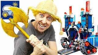 🏠 Лего Нексо Найтс Аксель 3 в 1 и Дом Мечты Фортрекс мобильная крепость или Дом для Барби Картонка