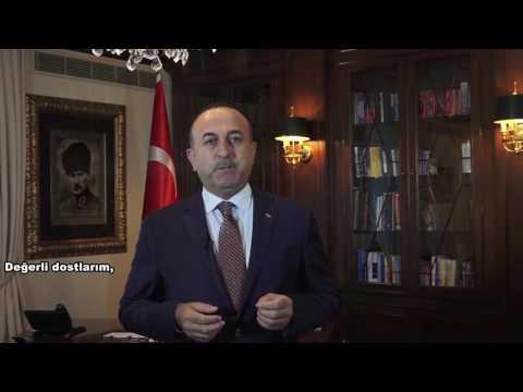 Turkish Heritage Organization 'a Türkiye 'den canlı olarak hitabı