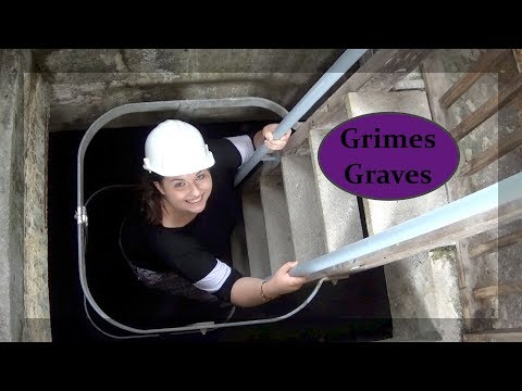 We Climb Down into Prehistoric Grime's Graves!