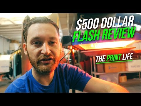 Screen Printing Equipment Review | Cheap Screen Print Flash Review And How To | The Print Life
