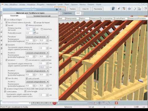 Mastercad 3d disegnare i tetti coperture youtube for Libreria arredamento sweet home 3d