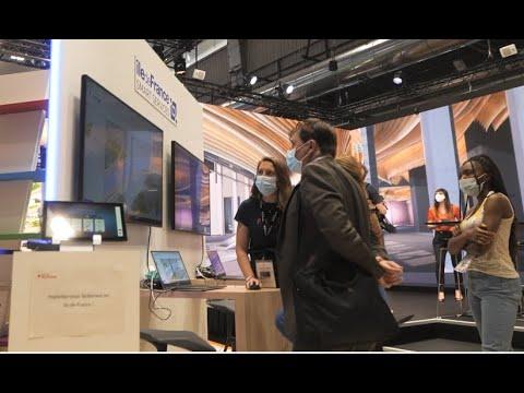 La Région Île-de-France à Viva Technology 2021 - 1/4