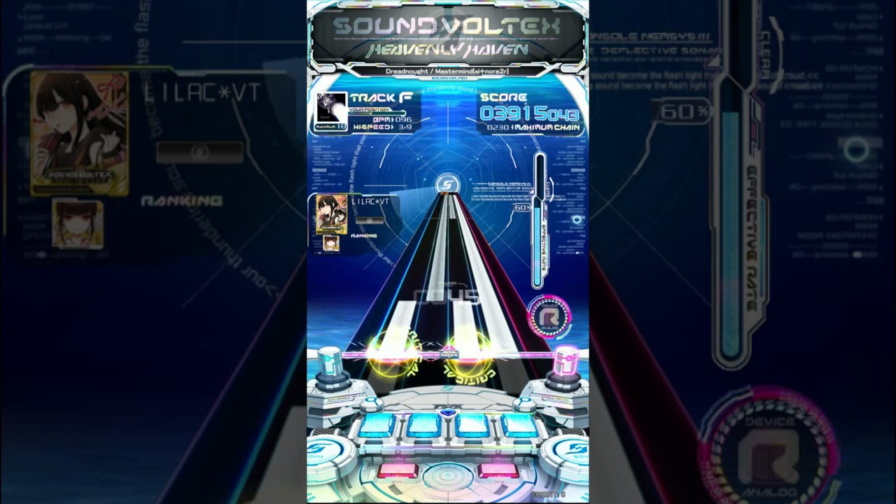 [SOUND VOLTEX IV HEAVENLY HAVEN] Dreadnought MAXIMUM