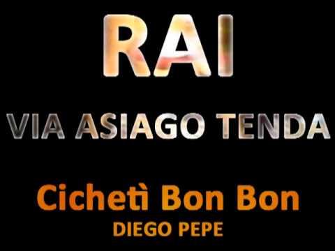 RMM Rosferra Marsalis Music - Diego Pepe - Radio RAI - Via Asiago Tenda - Cichetì Bon Bon