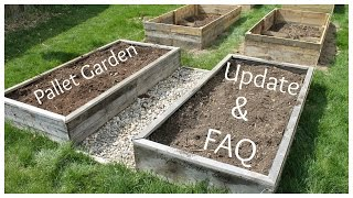 Pallet Garden Update And Faq - How Did They Hold Up?