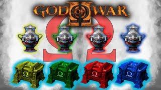 GOD OF WAR 2 COMO OBTENER LAS URNAS Y COFRES DE PODER Neo Dreamer