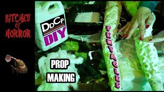 DIY PROP MAKING - Tentacle Tutorial with DDCP's Cassandra Sechler (Bitches of Horror)
