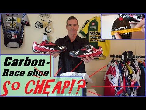 Venzo carbon cycling shoes...So Cheap!