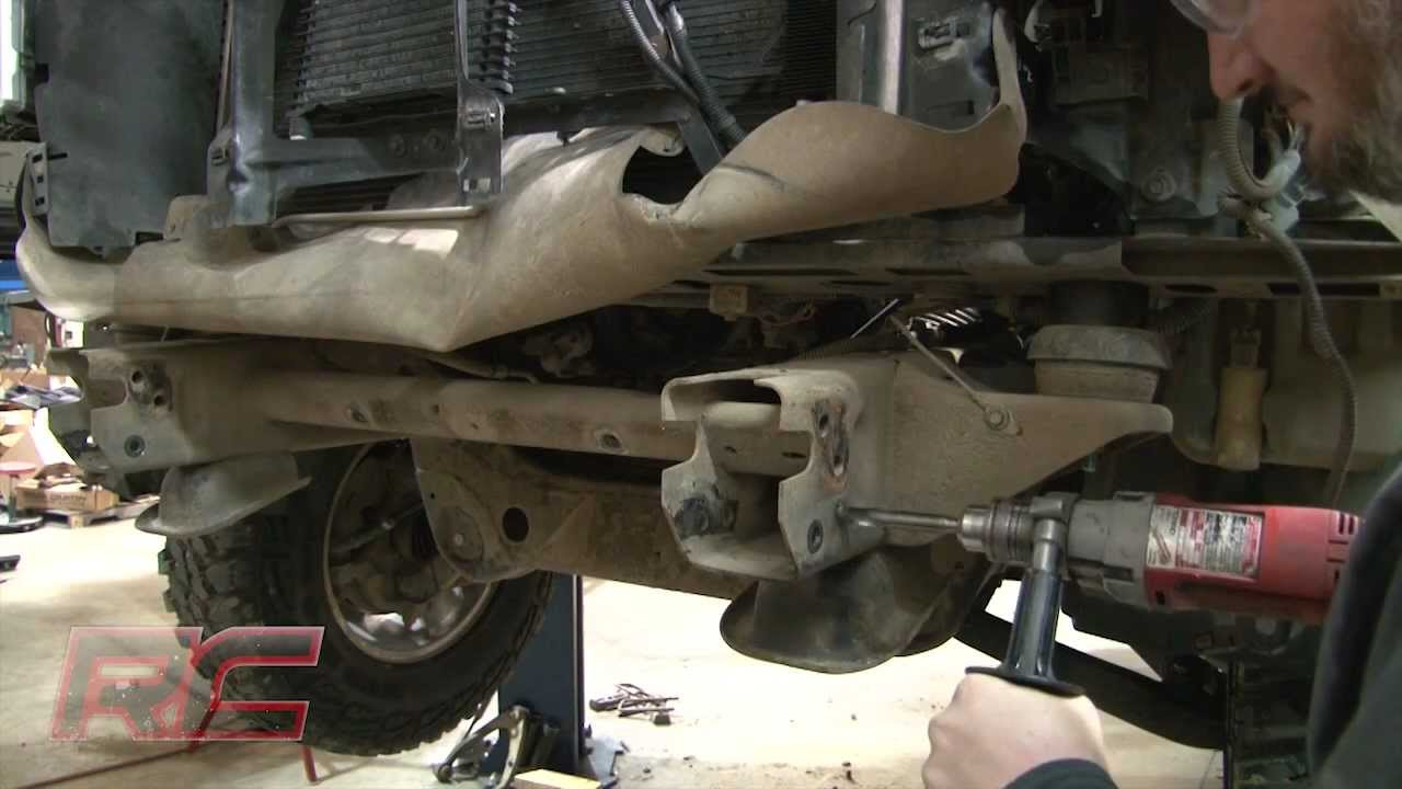 Tacoma Rear Differential Diagram Rough Country S 1 25 Quot Body Lift Kit 07 Amp Up 4wd Chevy Gmc