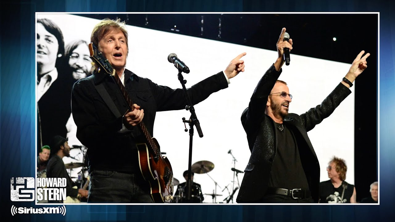 Paul Mccartney Talks Reuniting With Ringo Starr Feuding With John Lennon And Why He Underestimated George Harrison S Skills As A Songwriter Howard Stern
