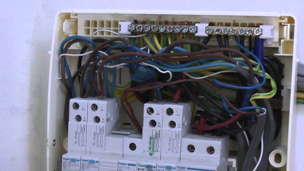 Main Switch Consumer Unit - YouTube