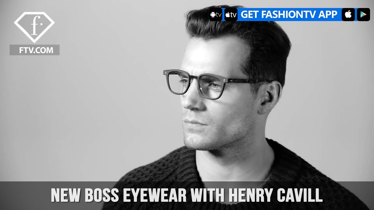 New Boss Eyewear Sharpenyourfocus With Henry Cavill Fashiontv