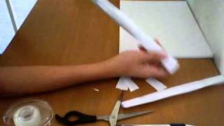 How To Make A Simple Paper Gun (  Shoots Paper Bullets )