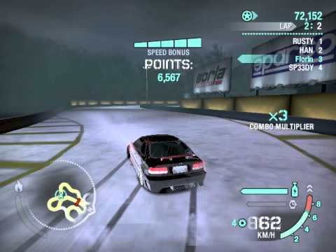 Honda need for speed carbon
