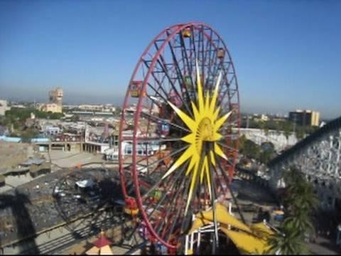 Maliboomer Shot Drop Tower On Ride Pov Disney S California