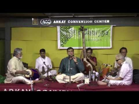 Prof.TRS Rememberence Day-Madurai T N S Krishna Vocal Concert