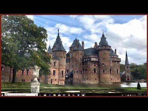 Kasteel De Haar Nederland (Schloss De Haar/Castle De Haar Netherlands) Utrecht, Nähe Amsterdam