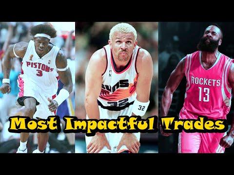 10 Most Impactful NBA Trades Since 2000