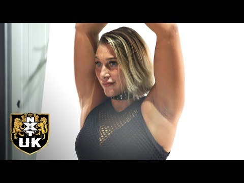 Rhea Ripley does her first photoshoot as NXT UK Women's Champion: NXT UK Exclusive, Nov. 28, 2018