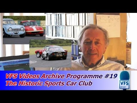 The Historic Sports Car Club | VFS Motor Racing Archive Programme #19