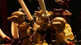 lego the hobbit- down down the goblin town