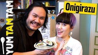 Onigirazu // Sushi-Sandwich mit Steak // #yumtamtam